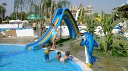 Kids' Rainbow Slide