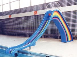 Kids' Rainbow Slide