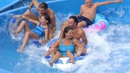 Wide Rafting Slide
