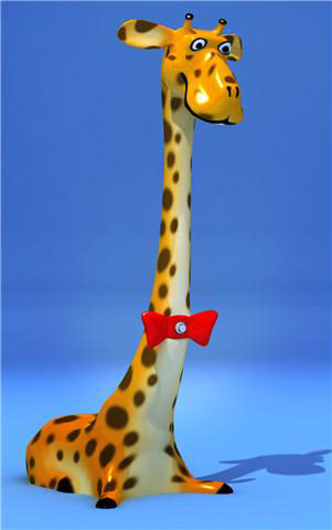 Giraffe Shower